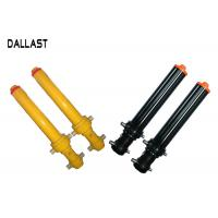 Quality Multi Stage Telescopic Hydraulic Cylinder Single Acting For Agricultural Tipper Truck for sale