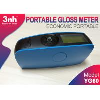 China Blue Economic Portable Gloss Meter YG60 , for Glass Cardboard Fabric gloss level assessment on sale