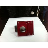 Quality Red High Security Heavy Duty Rim Lock Customized Service Long Working Lifespan for sale