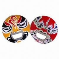 Quality bottle opener keychain, mask design or your designs and sizes are welcome,OEM orders are welcome for sale
