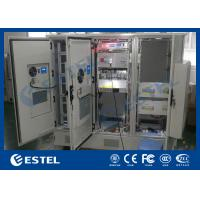 China Galvanized Steel Integrated Base Station Cabinet , Outdoor Server Cabinet on sale
