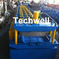 Quality PLC Control Clip Lock Cold Roll Forming Machine for 0.3-0.8mm ThicknesS Tapered Bemo Sheets With 5.5 KW Main Power for sale