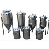 Buy Common Diy SS Home Beer Making Equipment With Vacuum Relief Valve at wholesale prices