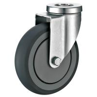 Quality Moving Bolt Hole Casters / Smoothing Extra Heavy Duty Caster Wheels for sale