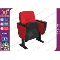 Quality Heavy Duty Stacking Church Hall Chairs With Back Bag And Tablet for sale