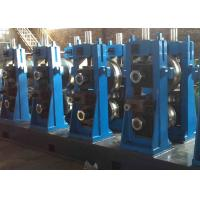 Quality Carbon Steel ERW Pipe Mill Adjustable Pipe Size High Frequency Welding for sale