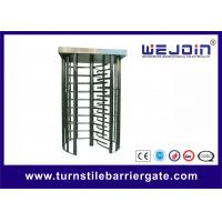 Buy Pedestrian Security Gates Automatic Turnstile Full Height Turnstile With Memory Function at wholesale prices