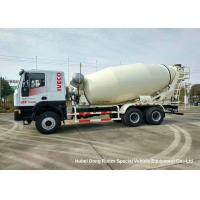 China IVECO Mobile Ready Mix Concrete Mixing Transport Trucks 6x4 Euro 5 for sale