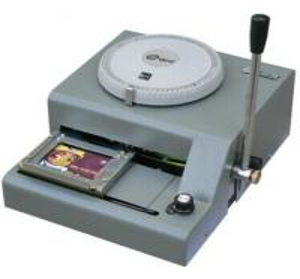 Plastic Card Embossing Machine