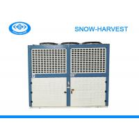 Quality Bitzer Box Type Freezer Room Condensing Unit Strong Galvanized Steel Casing for sale