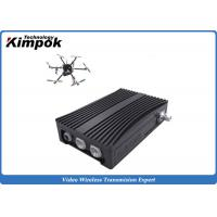 Quality Portable COFDM Transceiver Self-managing Network IP Mesh for UAV / Helicopter for sale