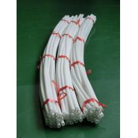 Buy Natural White Extruded Polytetrafluoroethylene Tube For Wire , 0.5mm-250mm at wholesale prices