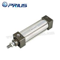 Buy cheap SC / SU Standard Air Cylinders , Adjustable Buffer Double Acting Air Cylinder from wholesalers
