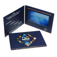 Quality High End 7 Inch Lcd Video Brochure , Custom Gift Greeting Cards 800*480 Pixels Resolution for sale