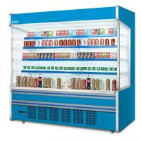 Buy cheap Shelves Adjustable Auto Defrost Opendeck Dairy Chiller / Commercial Open Display from wholesalers