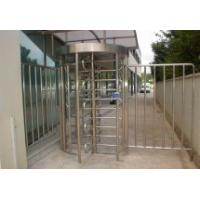 Quality RS485 One - Way Direction Full Height Turnstile Entrance Gate , Security Turnstiles 0.2s for sale