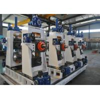 Quality Manual Or Automatic Welded Pipe Production Line / Industrial Tube Mills for sale