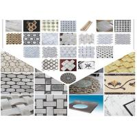 Quality Polished Surface Marble Mosaic Tile 305mm * 305mm * 10mm / Customed Size for sale