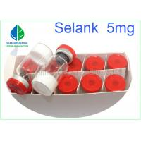 Buy cheap Injectable Peptide Lyophilized Powder Selank 5mg CAS 129954-34-3 For Enhancing Memory from wholesalers
