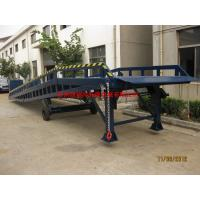 Quality Hand Control Movable Loading Ramp , Portable Loading Dock Ramps For Warehouse for sale