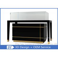 Quality Luxury Nice Black Jewelry Shop Counters / Jewelry Counter Display for sale