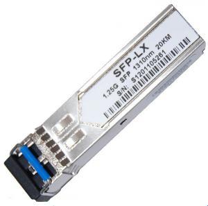 Quality 1.25G SFP Transceiver LX 1310nm 20KM for sale