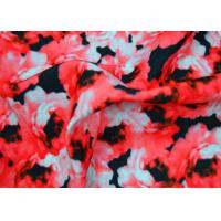 Quality 100 Polyester Fabric / Plain Polyester Fabric With Heat Transfer Printing for sale