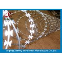 Buy cheap Stainless Steel BTO-22 Concertina Razor Wire / Security Barbed Wire from wholesalers