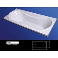 China stone bowl cheap cast iron resin bathtub on sale