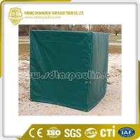 Quality Green Pallet Cover Heavy Duty Cover Tarp for sale