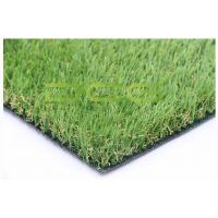 Quality Plastic Turf Grass / Realistic Artificial Grass Backyard SGS Certificate for sale