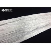Quality 1.8D Trilobal Bright Polyester Tow White Color Non Silicone Fit Needle Punching for sale