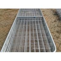 Quality Metal Cattle Fence Panels , Galvanized Field Fence For Livestock for sale