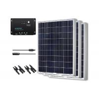 Quality 50 / 60 / 80 Watt Solar Panel Polycrystalline PV Module With Light Absorption for sale