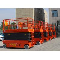 Quality Self Propelled Mini Scissor Lift Aerial Working Platform 13.7m Electric Drive for sale