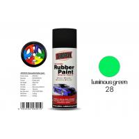 Quality Luminous Green Color Rubber Coat Spray Paint Mixture MSDS Certification APK-8201-27 for sale
