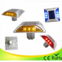 Quality IP68 Aluminum Shell Solar Led Road Stud With 1000M Visual Distance , Solar Cats Eyes for sale