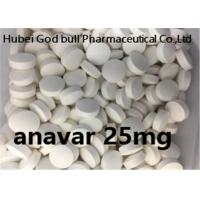 Quality Anavar 25mg Weight Loss Steroids White Pill Oxandrolone Bodybuilding Cutting Cycle for sale