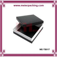 Quality Art paper black box, square printing gift paper box ME-TB017 for sale
