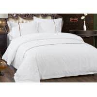 Buy Hotel Bedding Set 100% Cotton With 60S 300T King Size And White Color at wholesale prices