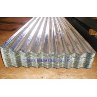 Buy Cold Rolled Galvanized Corrugated Steel Roof Sheets SGCC, DX51D, DX52D, JIS3310 at wholesale prices