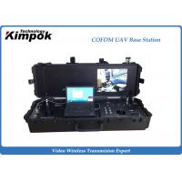 "Quality 17"" LCD Wireless Ground Station 138-4400MHz Briefcase COFDM Digital Receiver for sale"