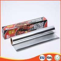 Household Aluminium Foil Roll Paper Food Grade For Cooking / Baking SGS Standard