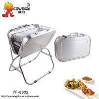 Popular large stainless steel Hot Sale BBQ Grill for sale