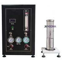 Quality HH61037 GB2406-2009 Wire Testing Equipment , Digital - Readout Oxygen Index Tester for sale