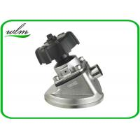 Quality Tank Bottom Sanitary Diaphragm Valve With Butt Weld Connection , Intelligently Designed for sale