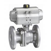 China ANSI 150LB ASME B16 34 Flange End Ball Valve , Lockable 4 Hydraulic Actuated Ball Valve on sale