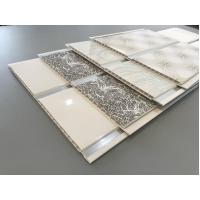 Quality Middle Groove 2.5kg Per Sqm Decorative PVC Panels Ceiling Decoration for sale