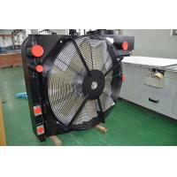 Quality Heavy duty bar & plate air to air Heat Exchanger with fan cooling kit for Agriculture Machinery for sale