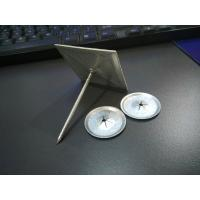 Buy cheap 2.4mm X 70mm Self Stick Rock Wool Pins With 50x50mm Base For Dusting from wholesalers